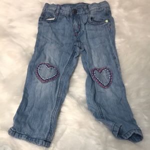 Toddler Crazy 8 Heart Patch Jeans